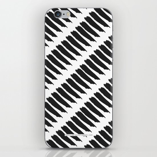 Black and white tiger stripes iphone ipod skin by pencil - Tiger stripes black and white ...