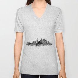 Minneapolis Skyline Unisex V-Neck