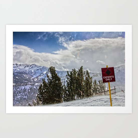 Windy Experts Only Art Print