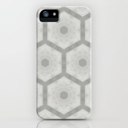 Pencil honeycomb iPhone Case