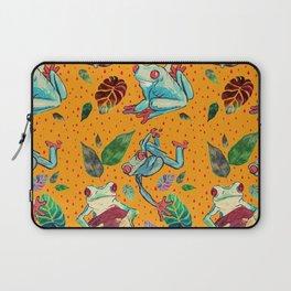 Rainforest Froggies Laptop Sleeve
