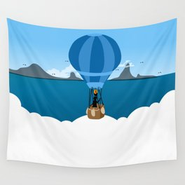 Over the Clouds Wall Tapestry