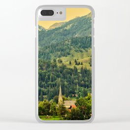 Bayrischzell, Germany II Clear iPhone Case