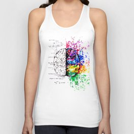 Conjoined Dichotomy Unisex Tank Top