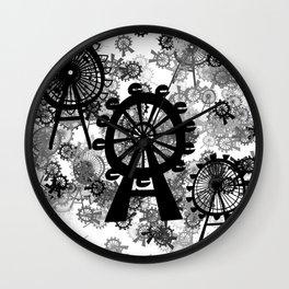 Ferris Wheel - London Eye Wall Clock