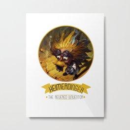 League Of Legends - Heimerdinger Metal Print