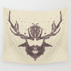 Hannibal Rorschach Test Wall Tapestry