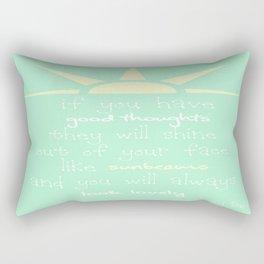 Roald Dahl Quote Rectangular Pillow