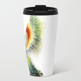 Peacock of Colors  Travel Mug