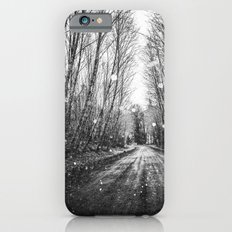 Forest Trees Nature Path - Follow the Fireflies iPhone 6s Slim Case