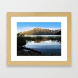 Lake Crescent I Framed Art Print