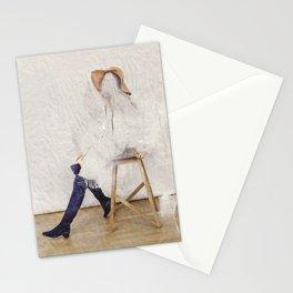 headless model No.01 Stationery Cards
