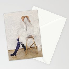 headless model No.01 Stationery Cards