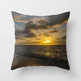 Golden Sunrise by Teresa Thompson Throw Pillow