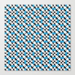 Blue Vertigo Canvas Print