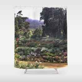Sri Lankan Garden Shower Curtain