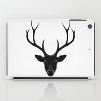 rare iPad Cases featuring The Black Deer by Ruben Ireland