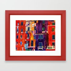 Portovenere Framed Art Print