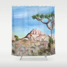 Desert Dreaming Shower Curtain