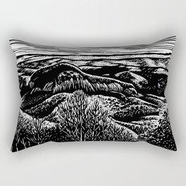 Looking Glass Mountain Rectangular Pillow