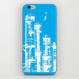 Factory Jump (white) iPhone Skin