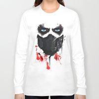 bucky Long Sleeve T-shirts featuring Bucky Barnes by akaori_art