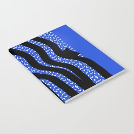 Blue Wave Notebook