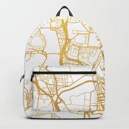 CINCINNATI OHIO CITY STREET MAP ART Backpack