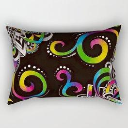 Doodle Magic Rectangular Pillow