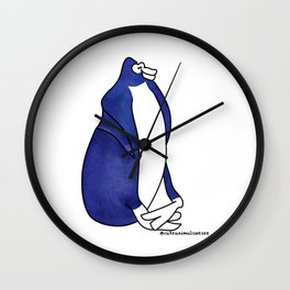 #5animalwesee Wall Clock
