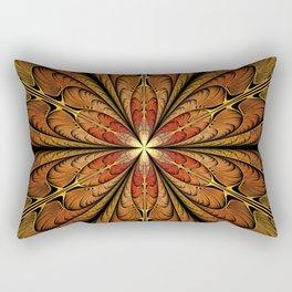 Flower Charm Rectangular Pillow