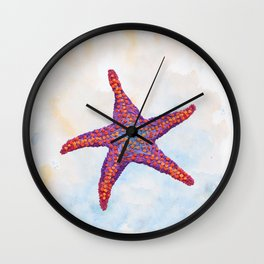 Hoopless: Washed Up Star Wall Clock