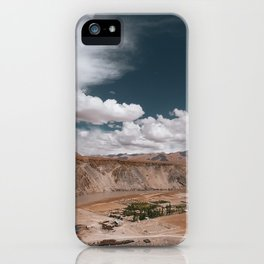 Beautiful landscapes of Ladakh iPhone Case