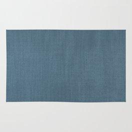 Blue Indigo Denim Rug