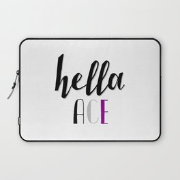 Ace Pride - Hella Ace Laptop Sleeve