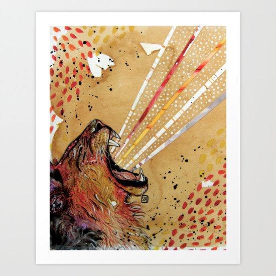 Lionhart Art Print