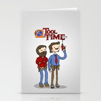 tool Stationery Cards featuring tool time. by dann matthews