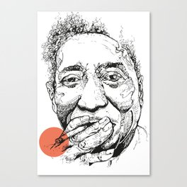 Muddy Waters - Get your mojo! Canvas Print