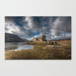 Eilean Donan Castle in Highlands of Scotland Canvas Print