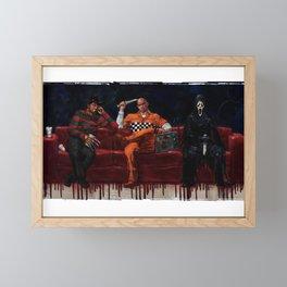 Three Killers Chilling Framed Mini Art Print