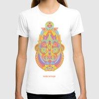 chakra T-shirts featuring Sahasrara Chakra by anabra