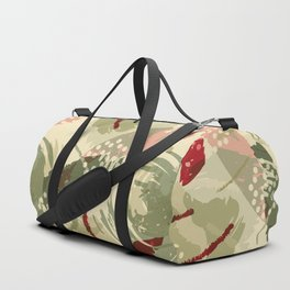 Abstract Holidays Duffle Bag