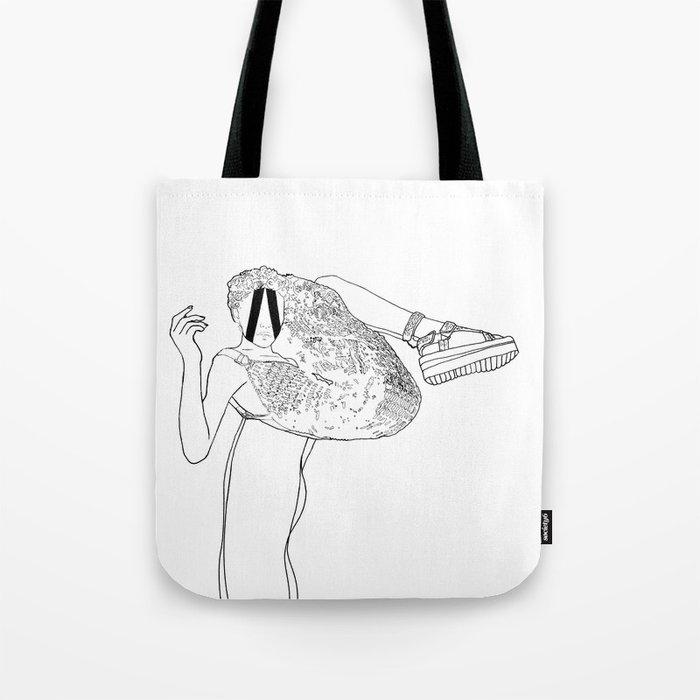 inward, every time. Tote Bag