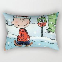 snoopy christmast Rectangular Pillow