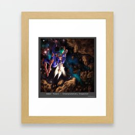 Interplanetary Inspector Framed Art Print