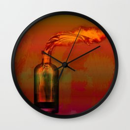 Molotov Wall Clock