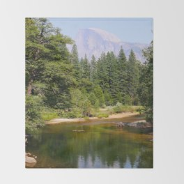 El Capitan Yosemite Throw Blanket