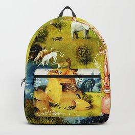 Bosch Garden Of Earthly Delights Panel 1 - Eden Backpack