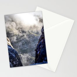 Table Mountain, South Africa Landscape Stationery Cards
