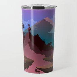 Race of the Tomb Raiders Travel Mug